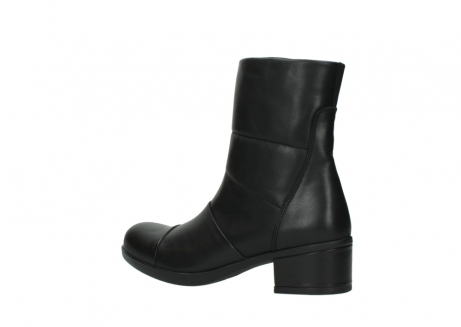 wolky mid calf boots 06032 amsterdam cw 20000 black leather cold winter warm lining_3