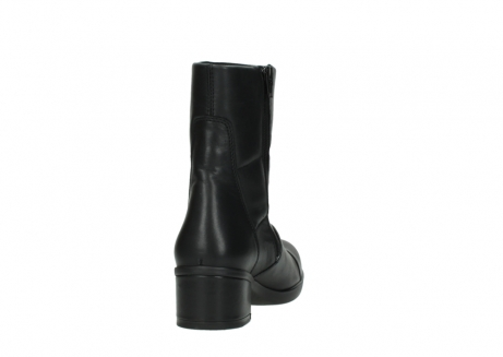 wolky mid calf boots 06032 amsterdam cw 20000 black leather cold winter warm lining_8
