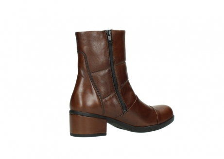 wolky mid calf boots 06032 amsterdam cw 20430 cognac leather cold winter warm lining_11