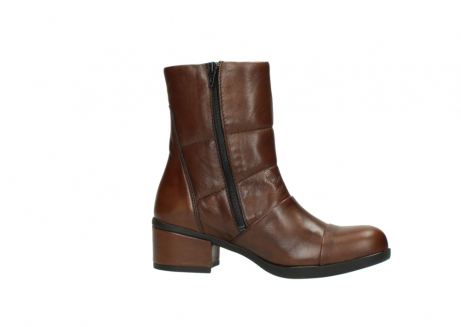 wolky mid calf boots 06032 amsterdam cw 20430 cognac leather cold winter warm lining_14
