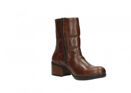 wolky mid calf boots 06032 amsterdam cw 20430 cognac leather cold winter warm lining_16