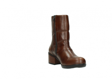 wolky mid calf boots 06032 amsterdam cw 20430 cognac leather cold winter warm lining_17