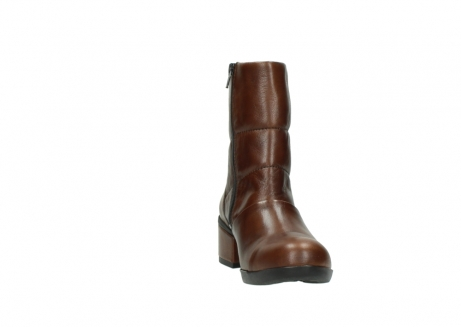 wolky mid calf boots 06032 amsterdam cw 20430 cognac leather cold winter warm lining_18