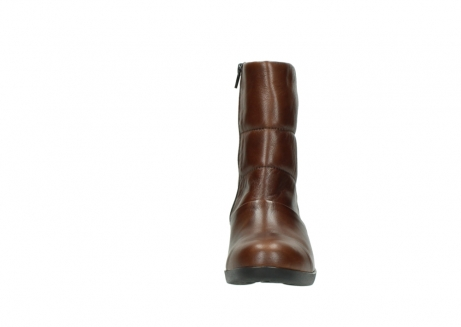 wolky mid calf boots 06032 amsterdam cw 20430 cognac leather cold winter warm lining_19