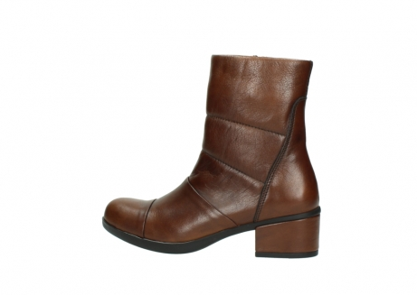 wolky mid calf boots 06032 amsterdam cw 20430 cognac leather cold winter warm lining_2