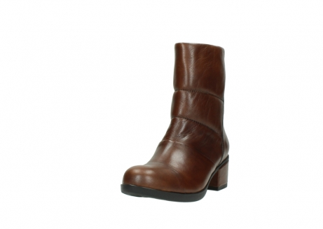 wolky mid calf boots 06032 amsterdam cw 20430 cognac leather cold winter warm lining_21