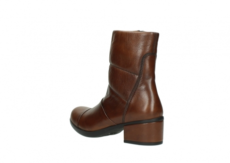 wolky mid calf boots 06032 amsterdam cw 20430 cognac leather cold winter warm lining_4