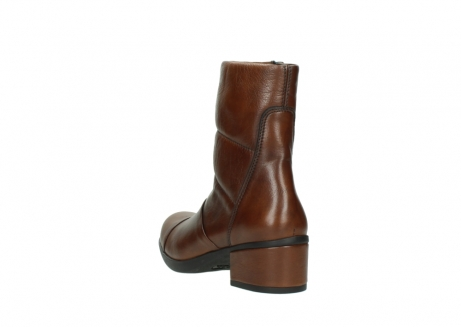 wolky mid calf boots 06032 amsterdam cw 20430 cognac leather cold winter warm lining_5