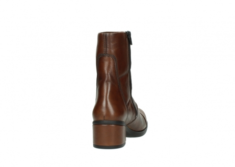 wolky mid calf boots 06032 amsterdam cw 20430 cognac leather cold winter warm lining_8