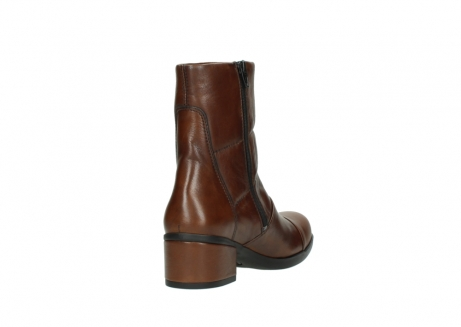 wolky mid calf boots 06032 amsterdam cw 20430 cognac leather cold winter warm lining_9