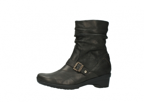 wolky mid calf boots 07654 florida 10300 mottled metallic brown leather_24