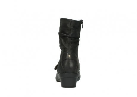 wolky mid calf boots 07654 florida 10300 mottled metallic brown leather_7
