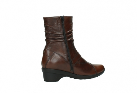 wolky mid calf boots 07655 florida cw 20430 cognac leather cold winter warm lining_12