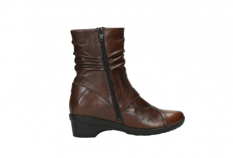wolky mid calf boots 07655 florida cw 20430 cognac leather cold winter warm lining_13
