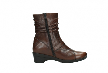 wolky mid calf boots 07655 florida cw 20430 cognac leather cold winter warm lining_14