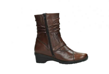 wolky mid calf boots 07655 florida cw 20430 cognac leather cold winter warm lining_15