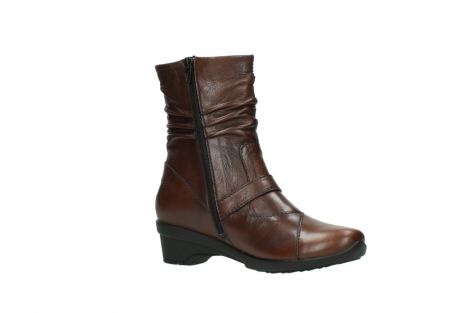 wolky mid calf boots 07655 florida cw 20430 cognac leather cold winter warm lining_16