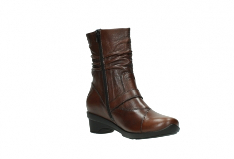 wolky mid calf boots 07655 florida cw 20430 cognac leather cold winter warm lining_17