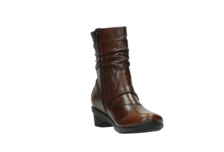 wolky mid calf boots 07655 florida cw 20430 cognac leather cold winter warm lining_18