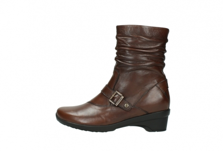 wolky mid calf boots 07655 florida cw 20430 cognac leather cold winter warm lining_2