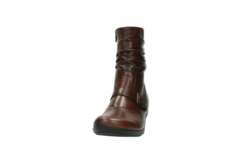 wolky mid calf boots 07655 florida cw 20430 cognac leather cold winter warm lining_21