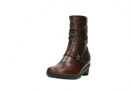 wolky mid calf boots 07655 florida cw 20430 cognac leather cold winter warm lining_22
