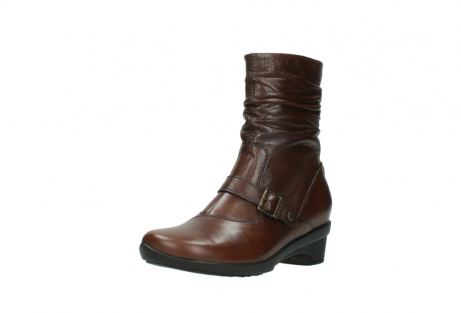 wolky mid calf boots 07655 florida cw 20430 cognac leather cold winter warm lining_23