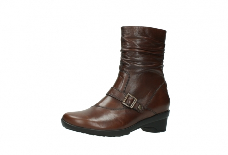wolky mid calf boots 07655 florida cw 20430 cognac leather cold winter warm lining_24