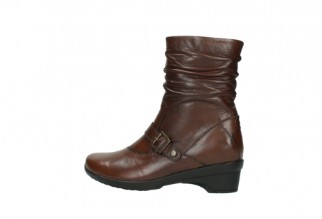 wolky mid calf boots 07655 florida cw 20430 cognac leather cold winter warm lining_3