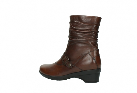 wolky mid calf boots 07655 florida cw 20430 cognac leather cold winter warm lining_4