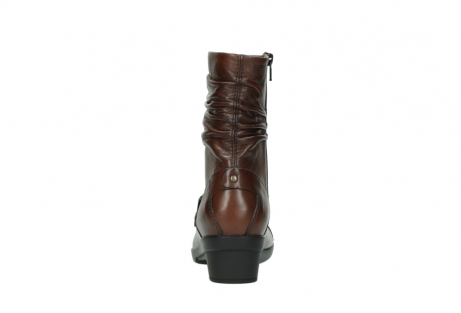 wolky mid calf boots 07655 florida cw 20430 cognac leather cold winter warm lining_8