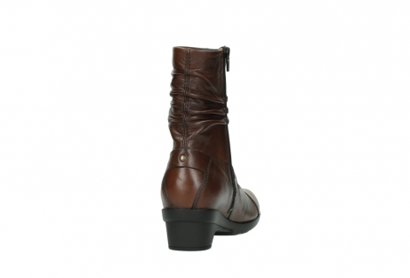 wolky mid calf boots 07655 florida cw 20430 cognac leather cold winter warm lining_9