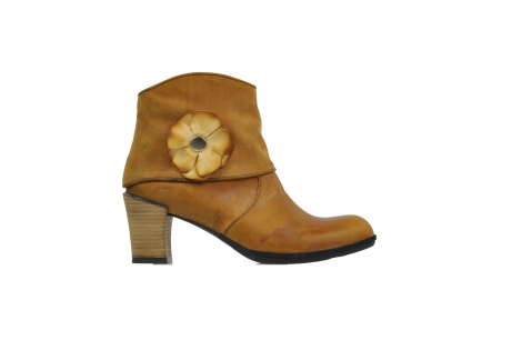 wolky mid calf boots 07735 monaco 80920 ocher leather