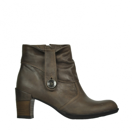 wolky mid calf boots 07740 shields 80150 taupe leather