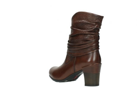 wolky mid calf boots 07741 mendez 20430 cognac leather_4