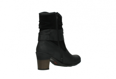 wolky mid calf boots 07741 mendez 40000 black suede_10