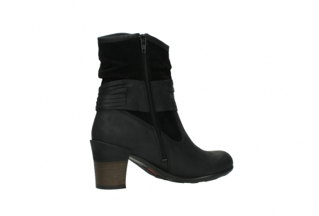 wolky mid calf boots 07741 mendez 40000 black suede_11