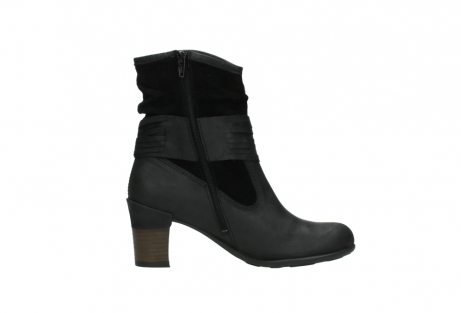 wolky mid calf boots 07741 mendez 40000 black suede_13