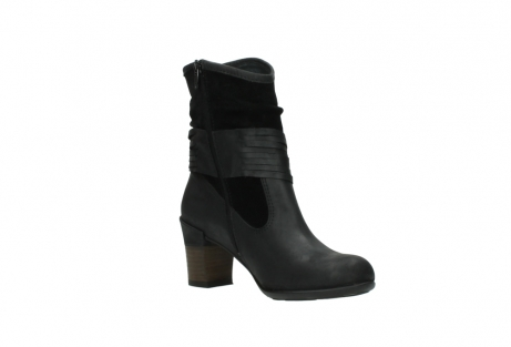 wolky mid calf boots 07741 mendez 40000 black suede_16