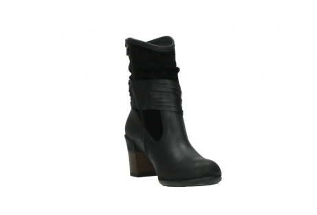 wolky mid calf boots 07741 mendez 40000 black suede_17