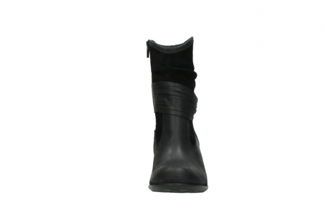 wolky mid calf boots 07741 mendez 40000 black suede_19