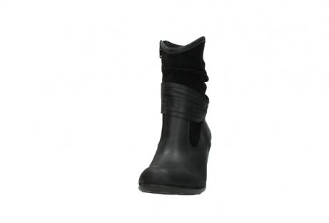 wolky mid calf boots 07741 mendez 40000 black suede_20