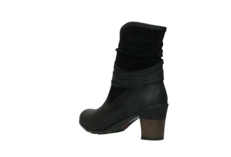wolky mid calf boots 07741 mendez 40000 black suede_4