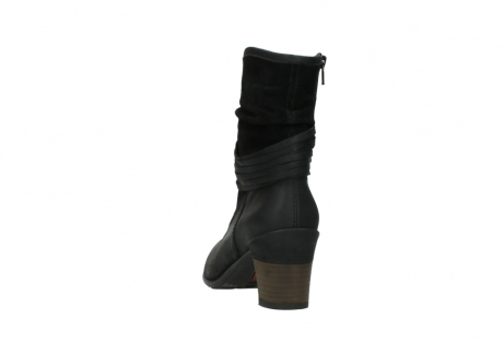wolky mid calf boots 07741 mendez 40000 black suede_6