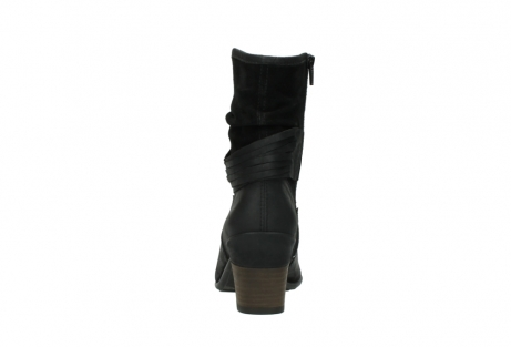 wolky mid calf boots 07741 mendez 40000 black suede_7