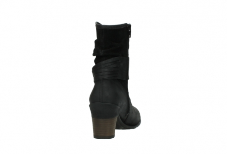 wolky mid calf boots 07741 mendez 40000 black suede_8