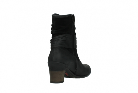 wolky mid calf boots 07741 mendez 40000 black suede_9