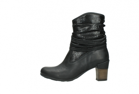 wolky mid calf boots 07741 mendez 90000 black craquele leather_1
