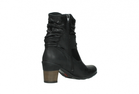 wolky mid calf boots 07741 mendez 90000 black craquele leather_10