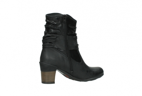 wolky mid calf boots 07741 mendez 90000 black craquele leather_11